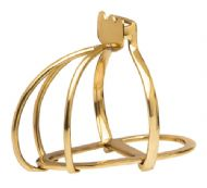 Carmargues stirrup gold or chrome finish